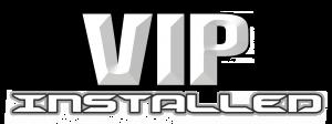 VIP Installed Logo