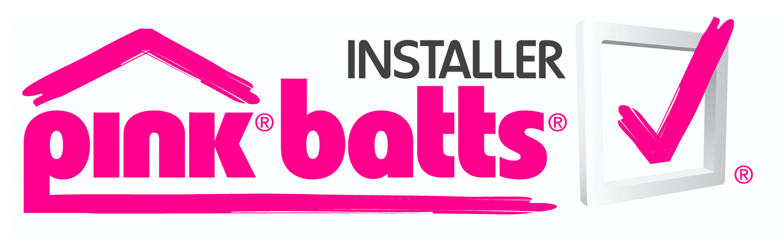 Pink batts Installer Logo